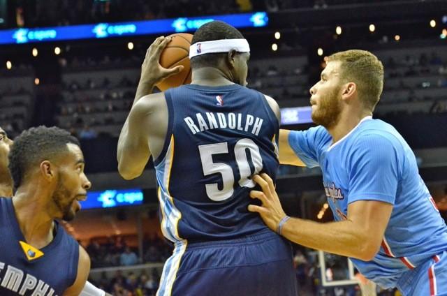 Grizzlies/Clippers made a comeback last night. - LARRY KUZNIEWSKI