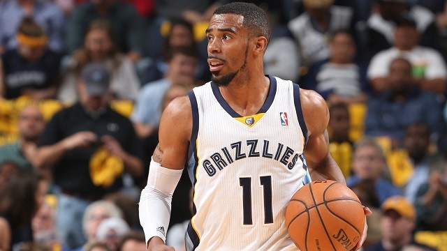 Mike Conley returned to action for the Grizzlies last night. - LARRY KUZNIEWSKI