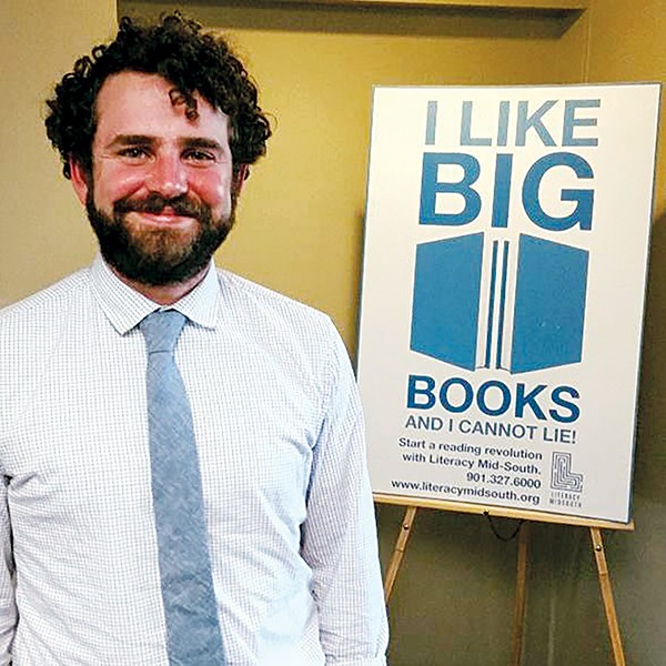 Knox Shelton, the new Executive Director of Literacy Mid-South. - PROVIDED BY LMS