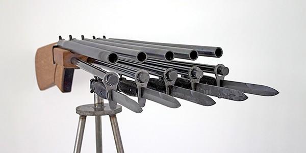 Jump the gun at the - Metal Museum.