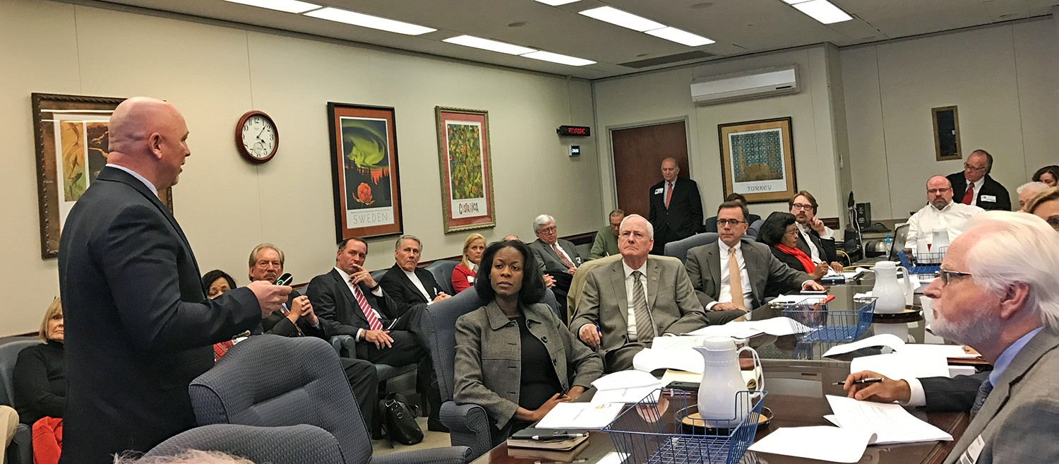 game on city gets a deannexation plan of its own to mull over click to enlarge city cao doug mcgowen lays out the deannexation report to the city county task force