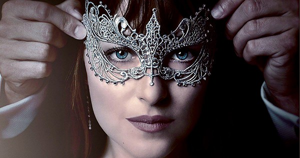 This is a nice thing that happens to Dakota Johnson in Fifty Shades Darker.