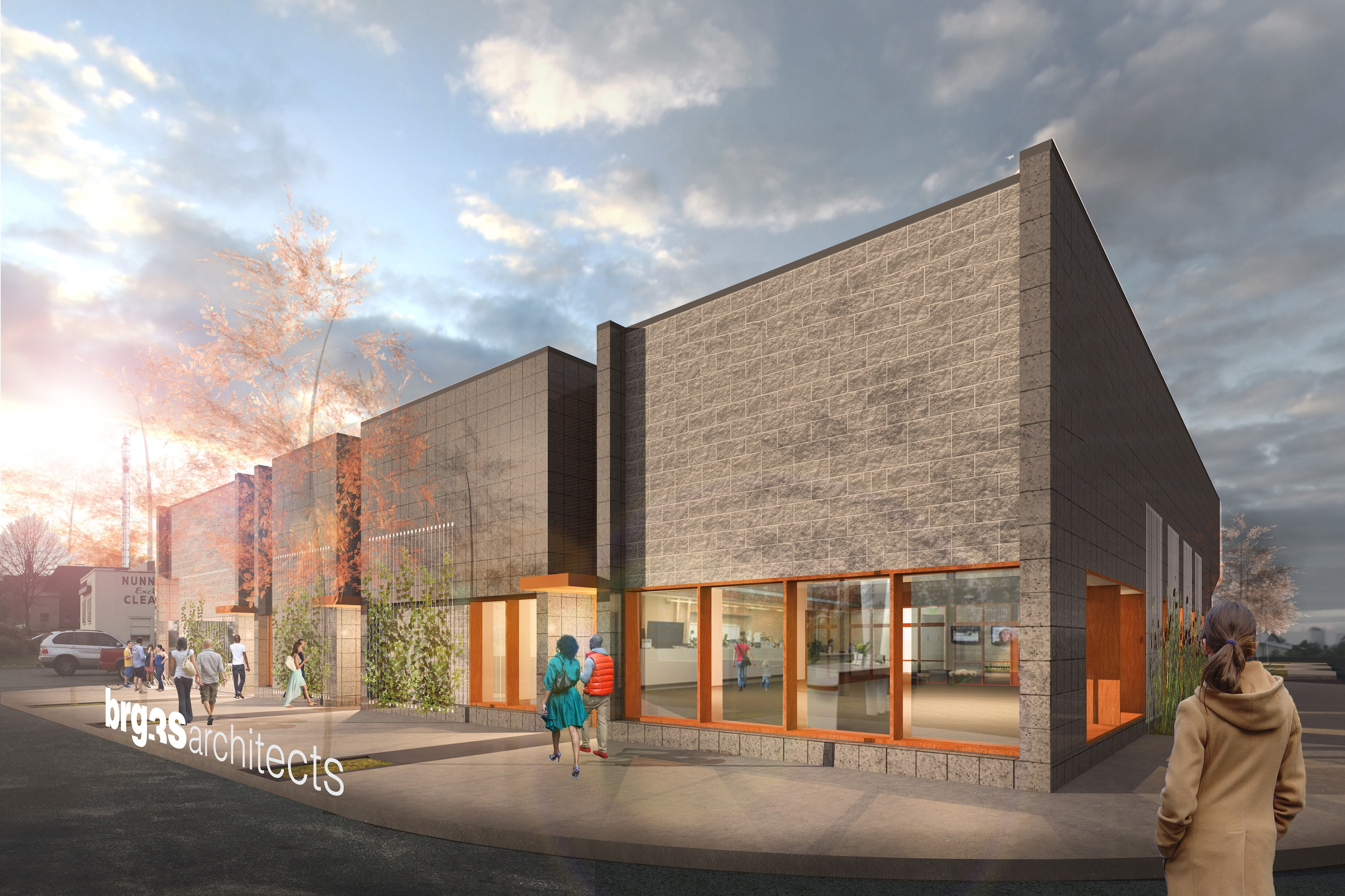 Click To Enlarge This New Retail Center Will Built At The Corner Of Union  And Diana.   LOEB