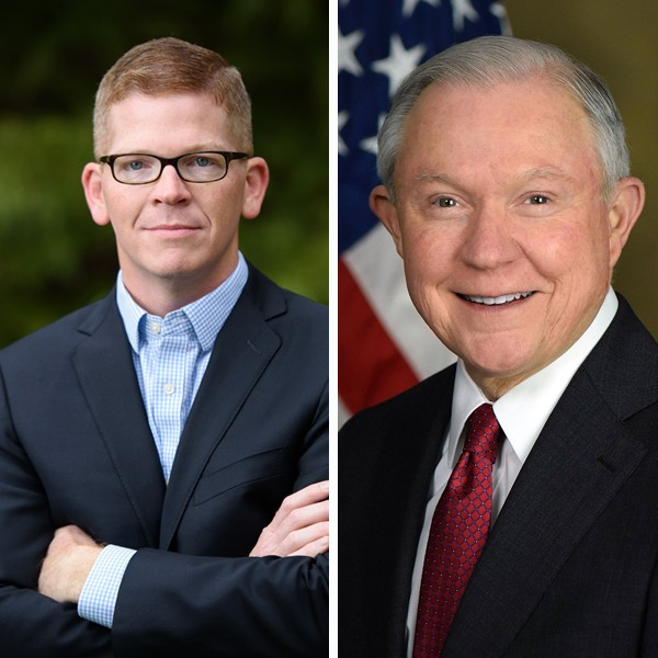 Spickler (left) and Sessions (right)