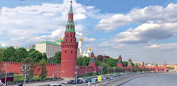 The Kremlin, a view from - the bridge