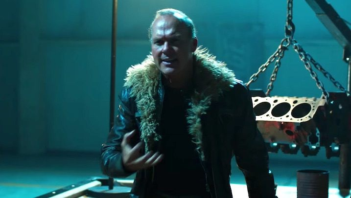 Michael Keaton as Vulture in Spider-Man: Homecoming