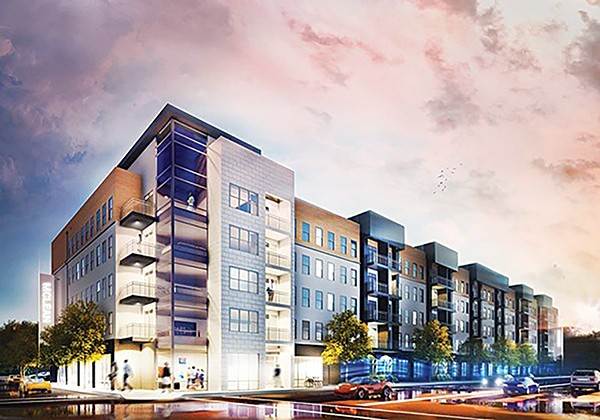 Proposed apartments at Madison and McLean