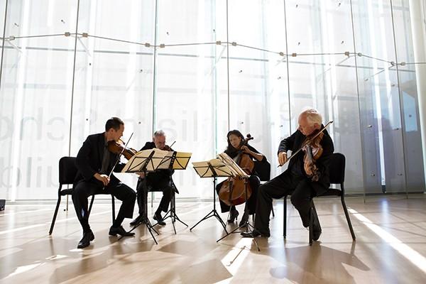 Juilliard String Quartet - SIMON POWIS