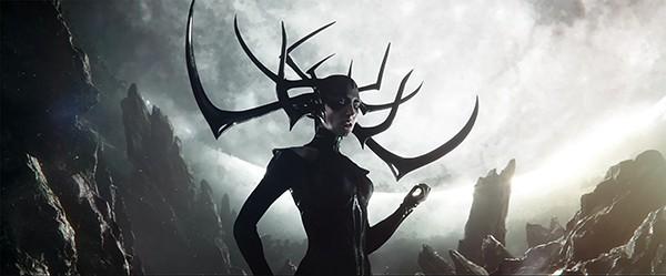 Cate Blanchett plays Hela, Thor's estranged older sister in Taika Waititi's heroically funny Thor: Ragnarok.