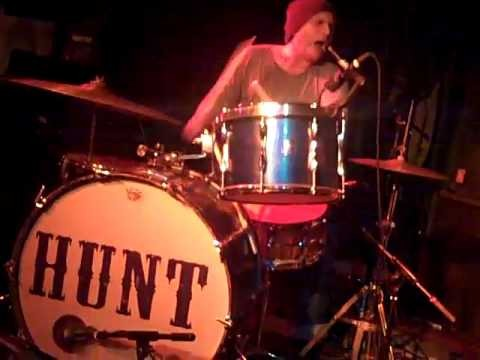 Hunt Sales on the drums.