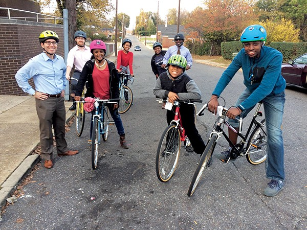 Teen ambassadors in the Big Jump Program help lead the charge to make biking in Memphis safer and more convenient - SYLVIA CRUM
