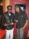 c'beyohn and Suavo J at Slice of Soul Pizza Lounge