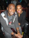 Justin Bailey and Renee Wills at Slice of Soul Pizza Lounge