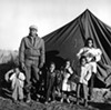 Operation Tent City, a major voting rights story from Fayette County that Withers covered for <i>Ebony</i>