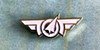 Frequent Flyer lapel pin