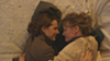 Molly Shannon (left) as Emily Dickinson in <i>Wild Nights With Emily</i>