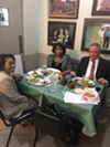 Harold Ford, Judge Bernice Donald and Virginia Wilson at Little Tea Shop.