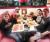 Seen at Freddy's  Frozen Custard & Steakburgers: Shawn Tillman, Felicia Tillman, Jamie Tillman, Jennifer Lantrip and Jacob Lantrip.
