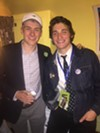 """Austin Barringer and J. M. Stodola, whose movie trailer,  """"Bumble,"""" was in the Indie Memphis Film Festival."""