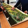 Scale model of the new Tom Lee Park