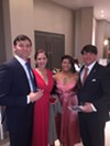 David and Rachel Wall and Laura and Charles Hall were at the Page Robbins Gala.