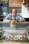 Hugh Balthrop, owner of  Sweet Magnolia Gelato Company