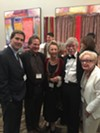Huger Foote, Dr. James Calandruccio, Nancy Copp, Ray Walther and Kitty Lammons at the Tennessee Shakespeare Company gala.