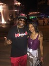 Al Kapone and Oona Mitchell Bean at Memphis in May World Championship Barbecue Cooking ContestAl