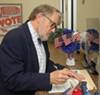 Dr. Jeff Warren at  Election Commission