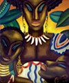 <i>Africa</i>, 1935.Loïs Mailou Jones