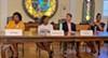 City Judge Candidates: (from left) Judge Teresa Jones, Municipal Court, Division 1; Candidate LaTrena Davis-Ingram, Division 1; Magistrate David Pool, candidate in Division 3; Judge Jayne Chandler, Division 3
