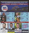 "The head of the ""Greater Memphis Democratic Club"" sample ballot  superimposed over several of its endorsees, including known Republicans and featuring City of Memphis official seals (circled) on several of the mugshots."