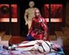 Marc Antony (Phil Darius Wallace) and Caesar (Michael Khanlarian)