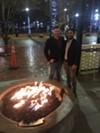 Ryan Marsh and Curtis Pandes at Moxy.