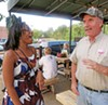 """The opponent of my opponent is my friend,"" an extrapolation of an old Arab proverb, would seem to apply to the District 2 City Council race, where Rachel Knox (left) and Jim Tomasik, who bumped into each other at the Flying Saucer on Germantown Parkway, face a common foe, the favored Frank Colvett Jr."