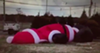 Naughty Santa on Germantown Parkway