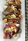 Roast Beet Salad + Sea Salt Granola & Honey Tarragon Dressing