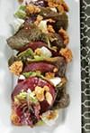 Roast Beet Salad + Sea Salt Granola & Honey Tarragon Dressing