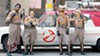 Leslie Jones, Melissa McCarthy, Kristen Wiig, and Kate McKinnon don the proton packs in Paul Feig's remake of <i>Ghostbusters</i>.