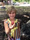 Zoie Dawson shows off a 901 Rocks! creation.