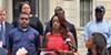 Young Democrats at Monday's  press conference