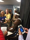 Zach Randolph seems to have lost some weight and says he's impressed by the chemistry of the team already.