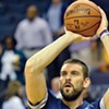 Marc Gasol looked good in his first game action since last year's foot injury.