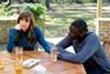 Allison Williams and Daniel Kaluuya star in Jordan Peele's new horror film, <i>Get Out</i>.