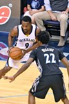 Tony Allen was injured in the Grizzlies' final regular season game.