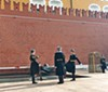 Changing of the guard in Moscow's Red Square