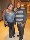 Anivia Kelly and DJ Nye at LGBT Legend Awards