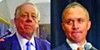 Phil Bredesen in 2008 (left);  Harold Ford Jr. in Memphis this year