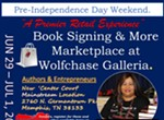 Book Signing and More Marketplace