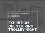 """Opening reception for """"Trolley Night: Music, Messages, and Movements"""""""